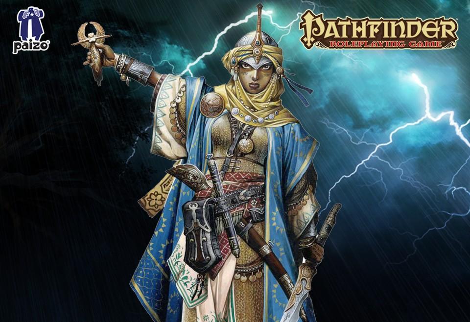 Image of Pathfinder cleric - Kyra