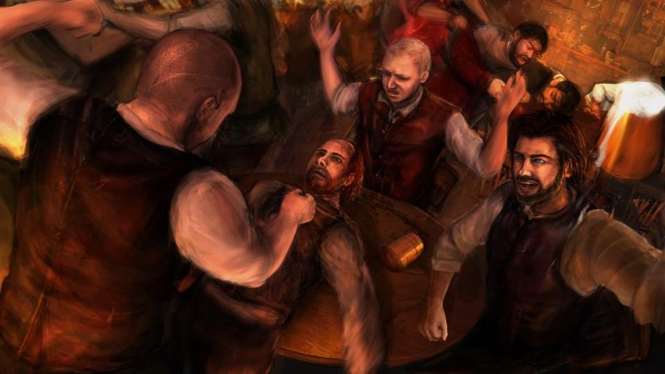 Image of Tavern brawl