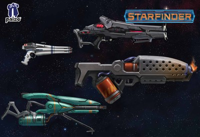 Image of Starfinder Handheld Weapons