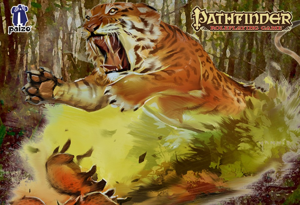 Image of Tiger battle