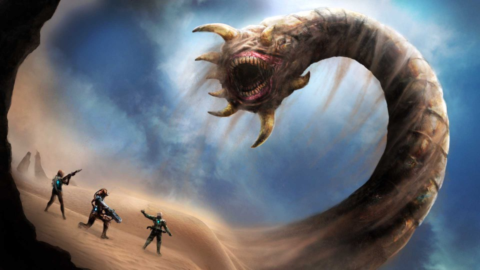 Image of Giant sand worm