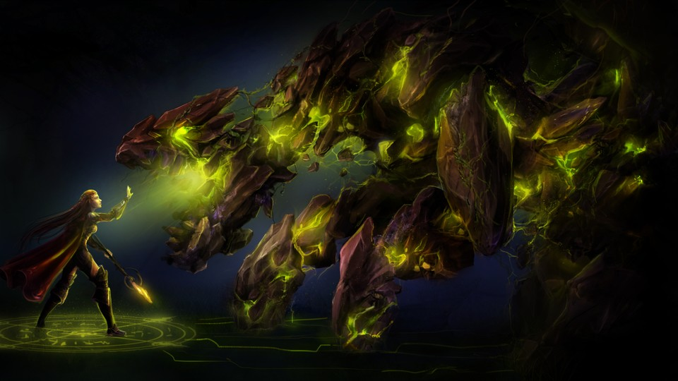 Image of Earth elemental (Sci-fi)