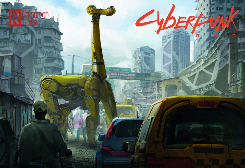 Image of Cyberpunk RED - Urban Renewal
