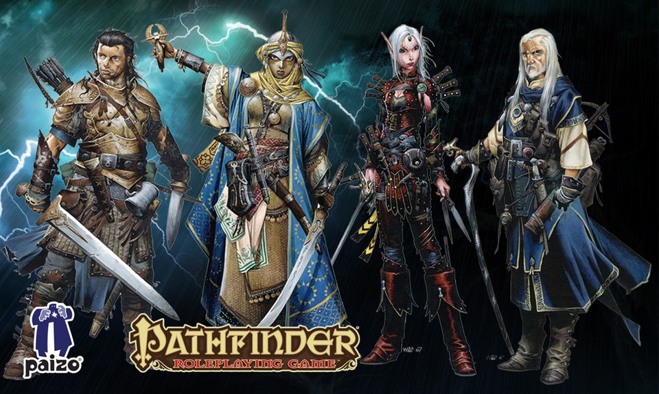 Image of Pathfinder player character 4 Pack