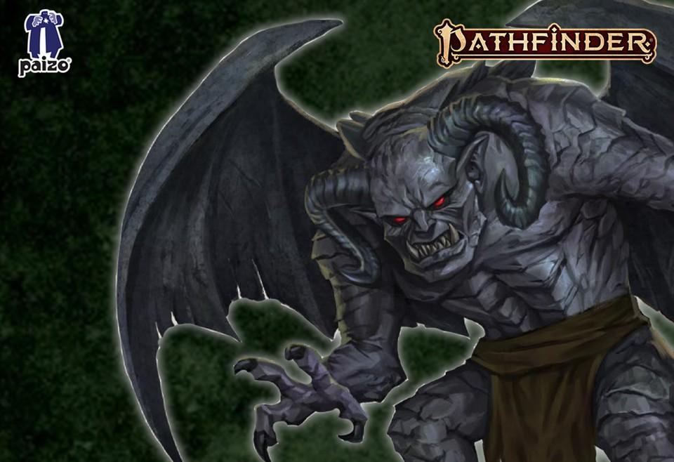 Image of Gargoyle battle