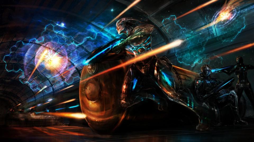 Image of Blaster battle