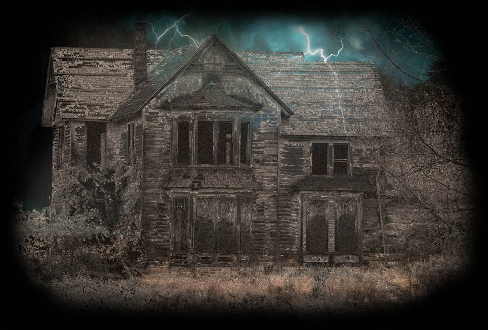 Image of Deserted desert house (HauntedHouse)
