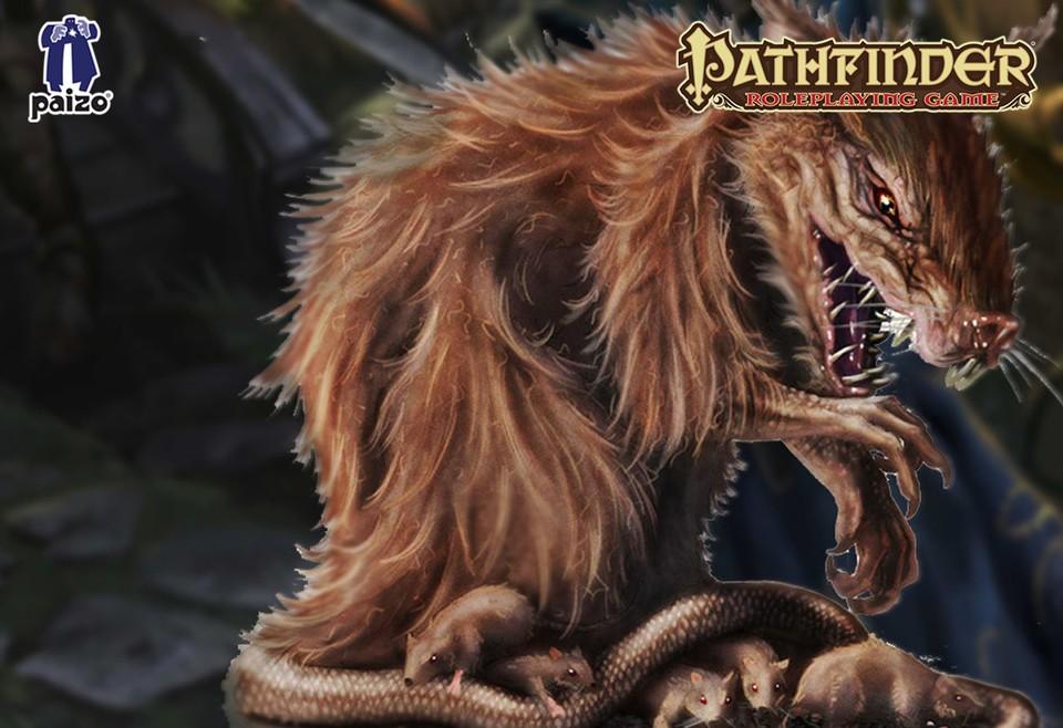 Image of Giant rat battle