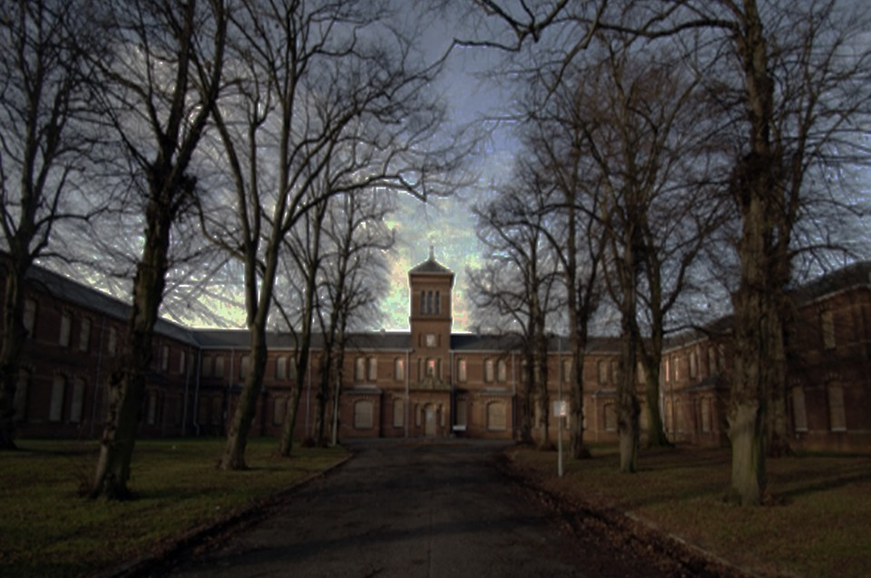 Image of Insane asylum 1920