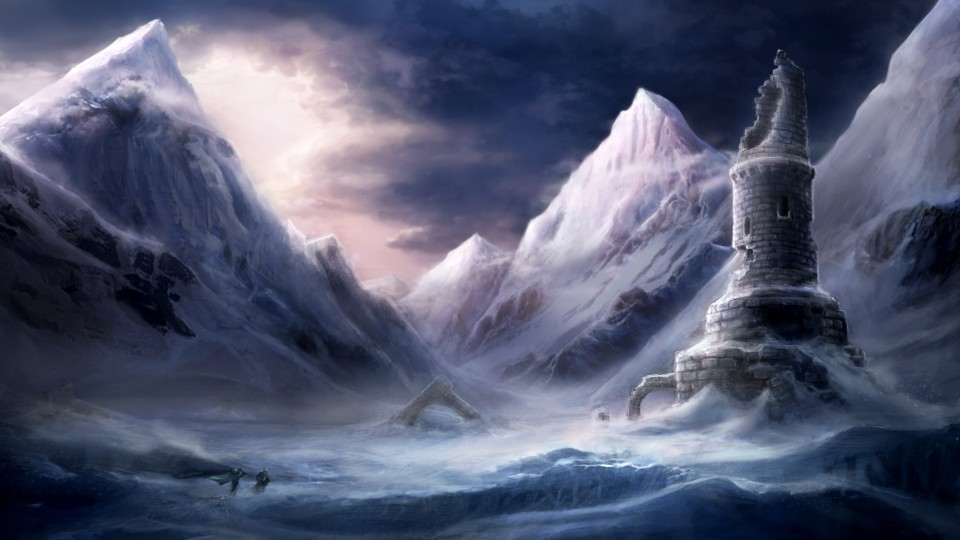 Image of Icy wasteland