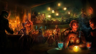 Image of Alien cantina