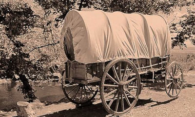 Image of Wagon journey (Highlands)