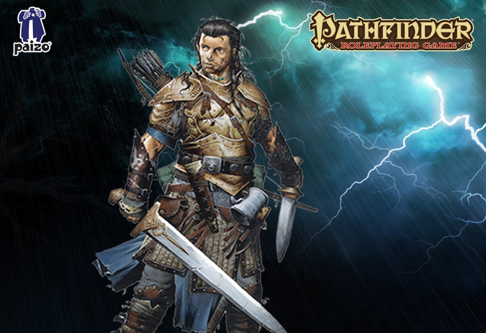 Image of Pathfinder fighter - Valeros