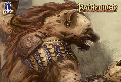 Image of Gnoll battle