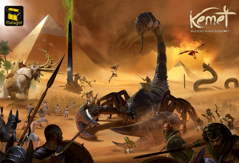 Image of Kemet: Blood and Sand