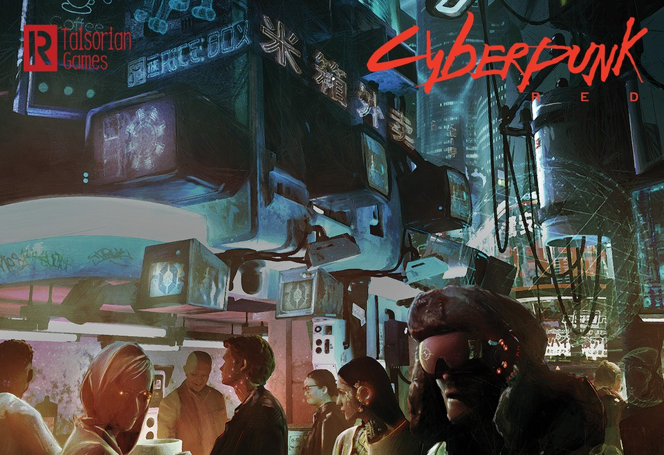Image of Cyberpunk RED - At the Night Market