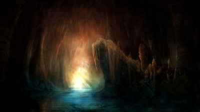 Image of Flooded cavern