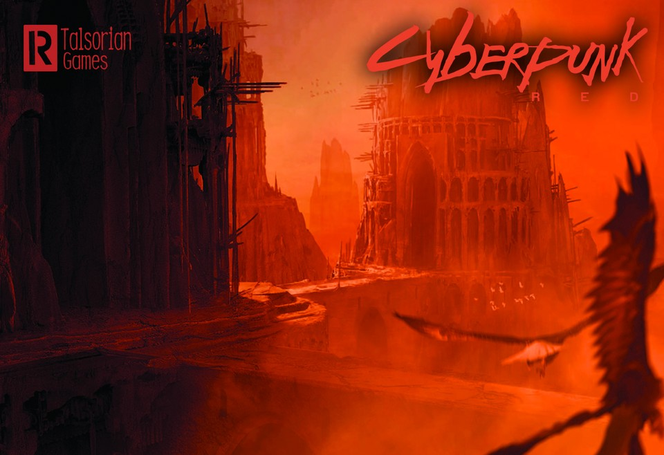 Image of Cyberpunk RED - Hot Zone