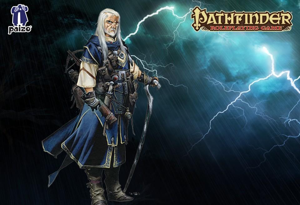 Image of Pathfinder wizard - Ezren